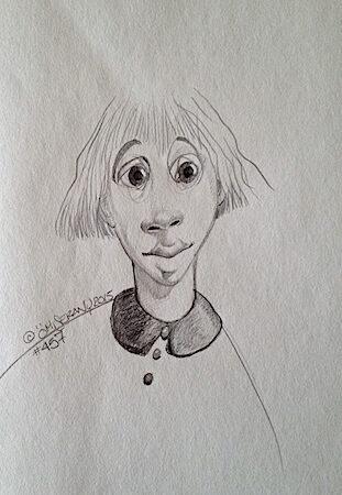 Titeface #457 /fait partie d'un triptyque gris