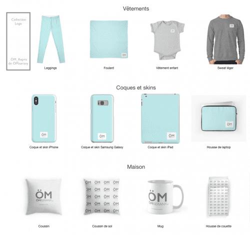 voici des exemples de la collection logo ÖMiserany disponible sur RB et si vous préféré me passer une commande, je le ferai pour vous