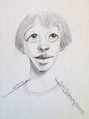 Titeface #508 fait partie d'un triptyque gris