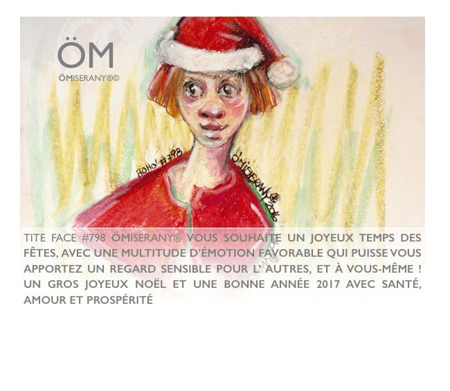 carte joyeux temps des fêtes de ÖMiserany 2016
