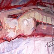 Femme couchée