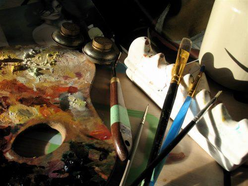 cours de peinture à l'huile par ÖMISERANY