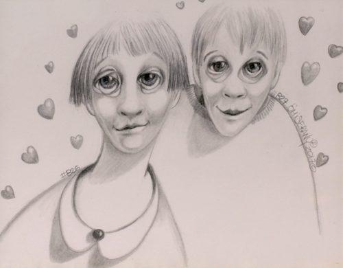 Titeface d'amour #826-827/1001 ÖMiserany©