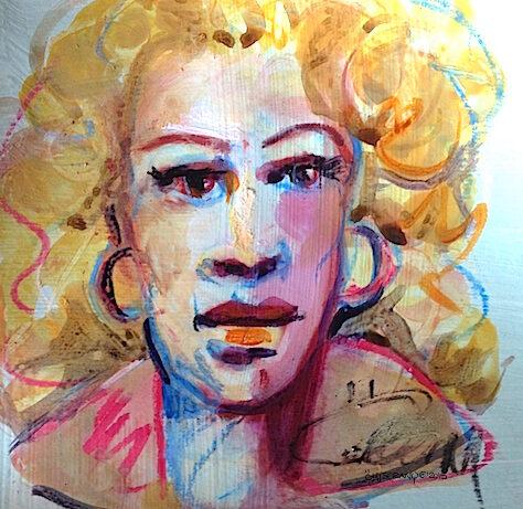 Blonde du bar