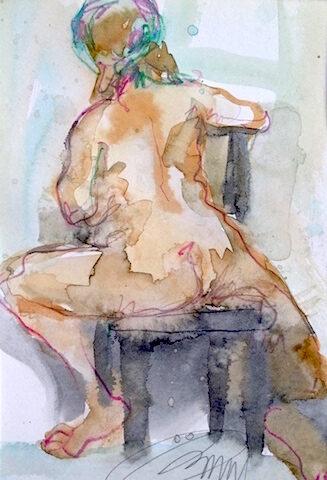 Femme foulard 2