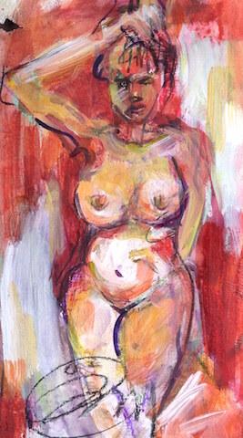 Un monde en couleurs,Femme tribal,ÖMiserany©