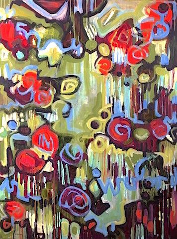 Graffitis en fleurs