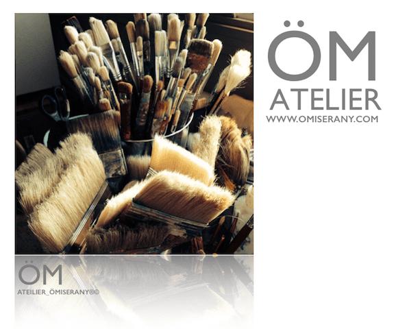 ÖM_ATELIER cours de peinture et dessin à L'ATELIER _ÖMISERANY