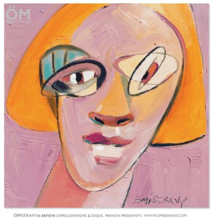 TiTEFACE, visage expressionniste, ÖMiserany©