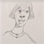 Titeface #481/fait partie d'un triptyque violacé