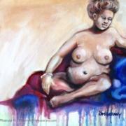 un monde à soi No-18-nue de femme rousse