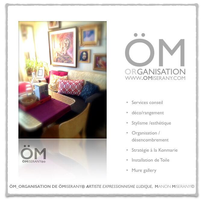 service conseil Décoration ÖM_ORGANISATION