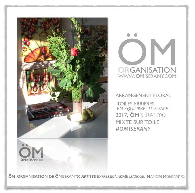 organisation-fleurs-omiserany centre de table
