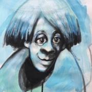 Titeface bleu Normand