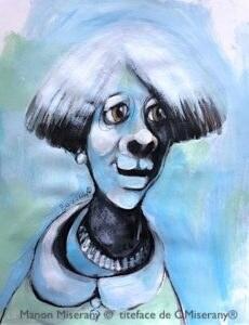 Titeface bleu chic-souvenir