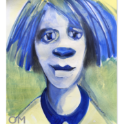 Titeface bleu et jaune N0 1, ÖMiserany®