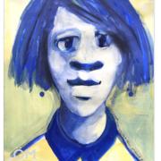 Titeface bleu et jaune N0 2,ÖMiserany®