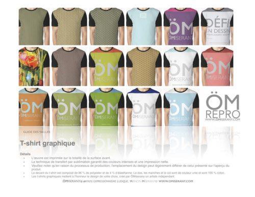 T-shirt graphique de ÖMISERANY
