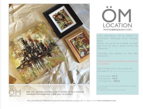 om-location-5-oeuvres-omiserany-trio-vert-rouge-noir-bureau