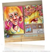 """ÖM_gallery -présente du 25 mai au 25 juillet 2019 """" les titeface à l'honneurs """""""