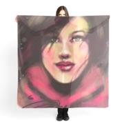 foulard-Dans le vent-2019 ÖMiserany® ARTISTE  Manon Miserany©