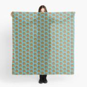 foulard-polonaise bleu 2019 ÖMiserany® ARTISTE  Manon Miserany©