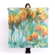 foulard-romantique 1 classique 2019 ÖMiserany® ARTISTE  Manon Miserany©