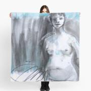foulard-Tiffany elle ÖMiserany® ARTISTE  Manon Miserany©