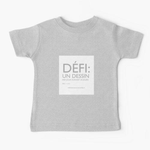 défidesign-t-shirt-bébé