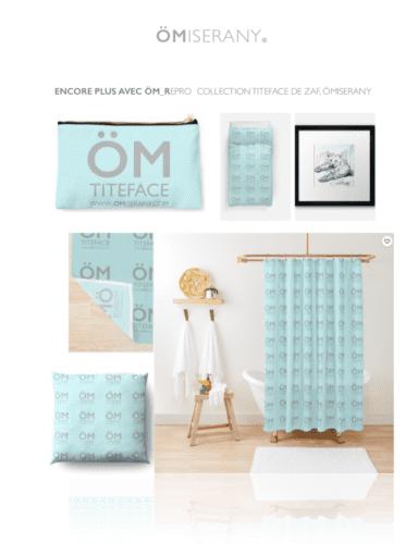 collection #11 ÖM_titeface-de Zaf ÖMiserany®  ARTISTE Manon Miserany©