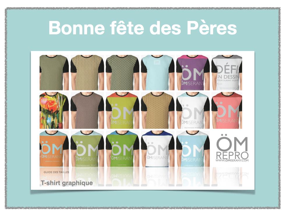 idées cadeaux ÖMiserany-2019 fête des pères 2019 19 t-shirts