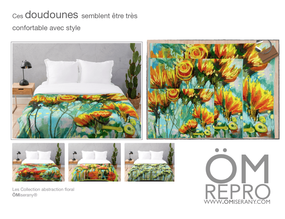 les doudounes abstraction floral-omiserany-2019