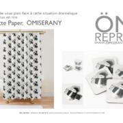 ÖM_REPRO ÖMISERANY -collection toilette paper-2020 -rideaux de douche