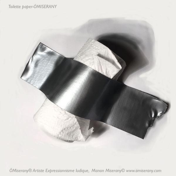 toilette paper ömiserany