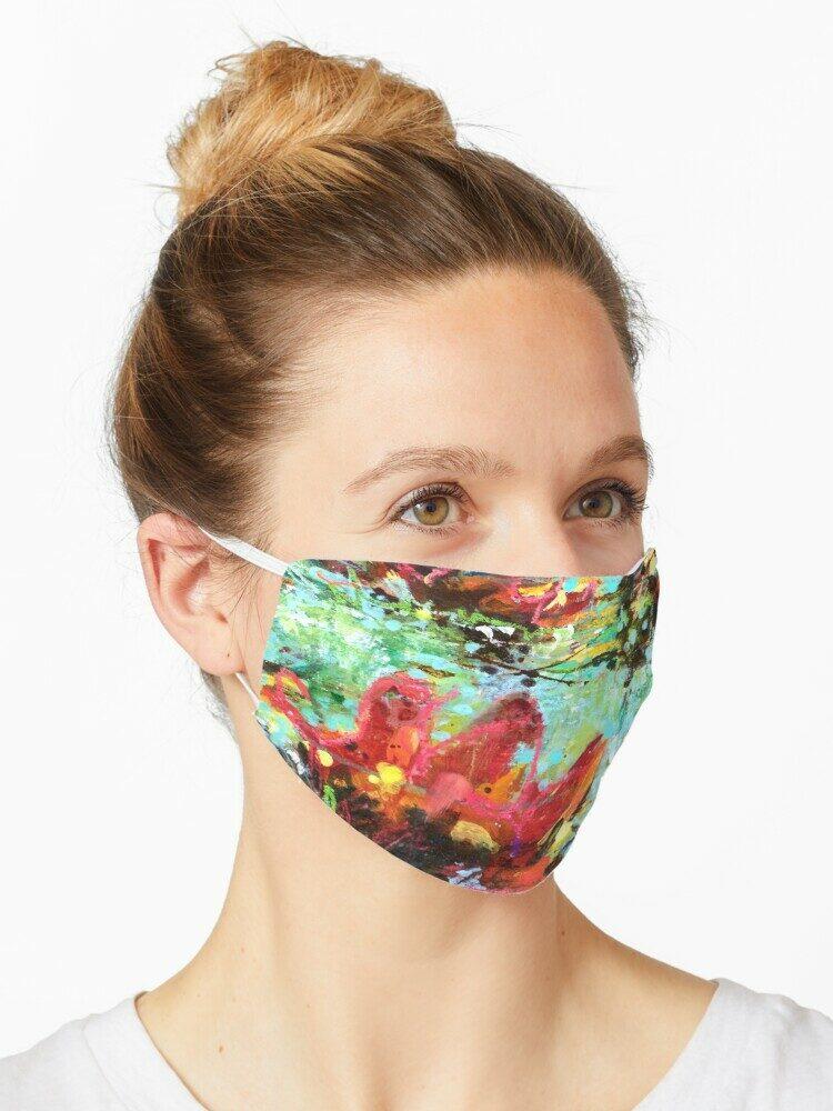 masque #3-Nénuphar-ÖMiserany®2018
