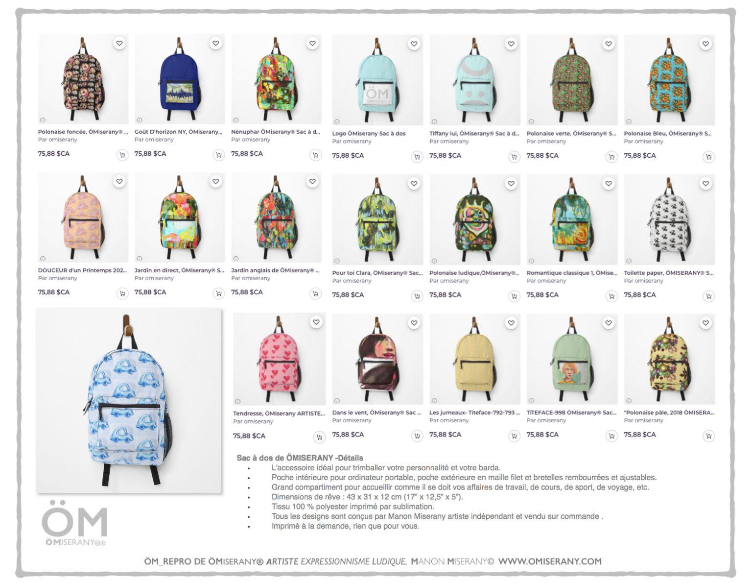 age catalogue : 20-sacs à-dos ÖMiserany 2020