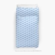 housse de couette #26-une voiture bleu 2020, ÖMISERANY®