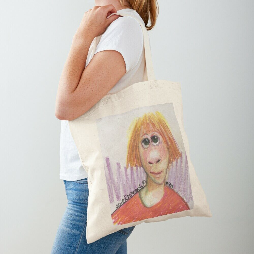 sac de coton avec impression de 1001TiTEFACE #714